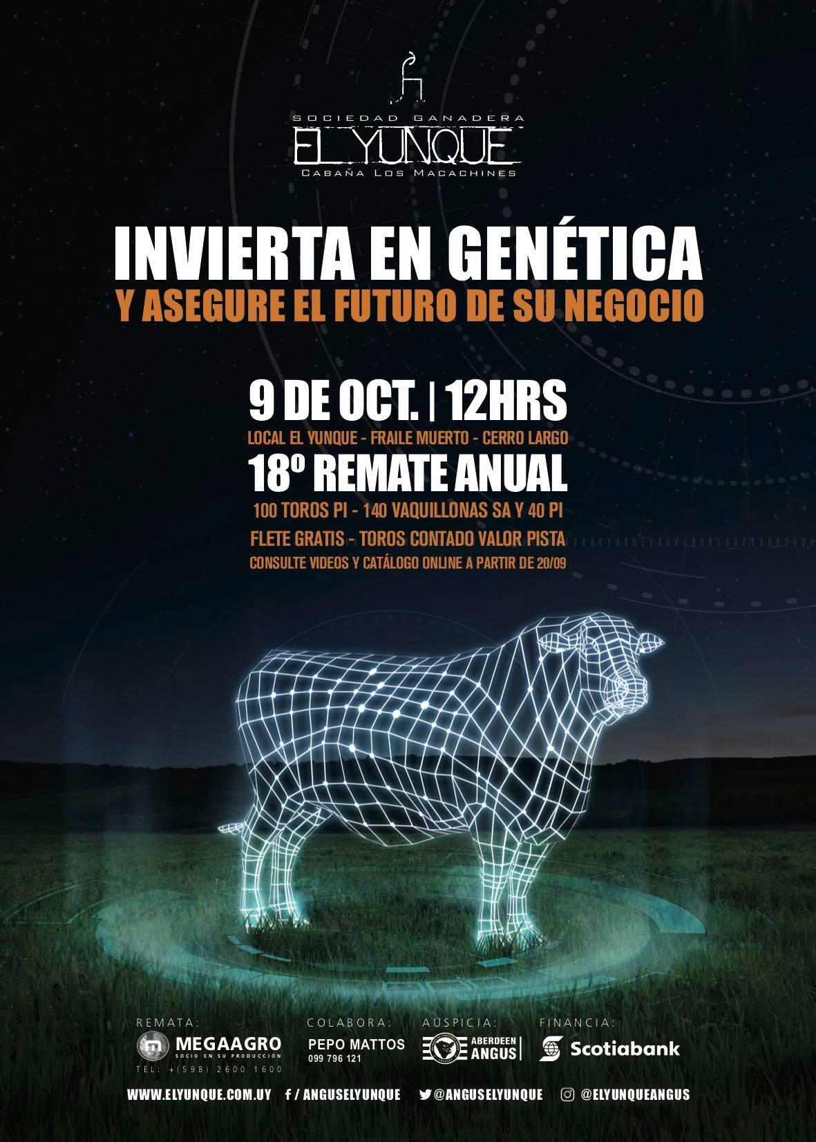 18 ° Remate Anual – Soc. Gan. El Yunque